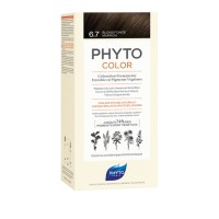 Phytocolor 6.7 Louro Marron Escuro (Kit)