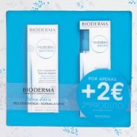 Bioderma Coffret Hydrabio Pele Normal/Mista - Gel-Creme (40ml) + Sérum (40ml)